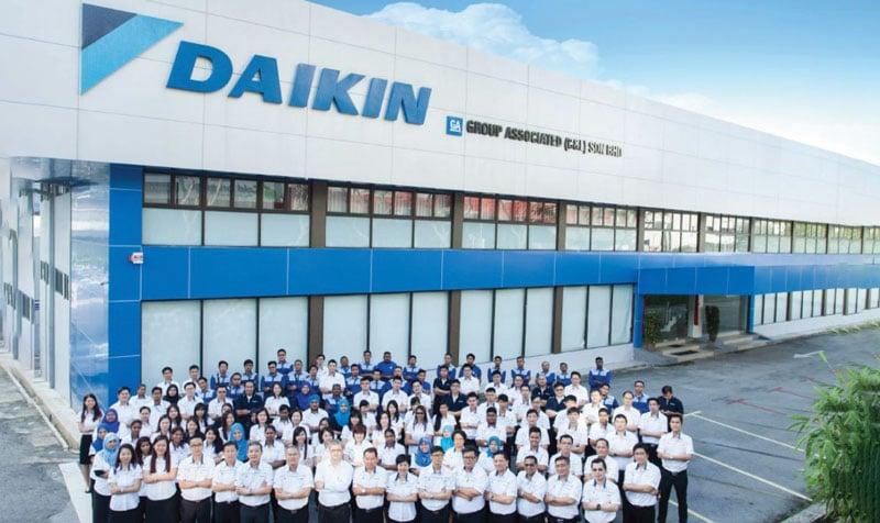 trung tâm bảo hành Daikin