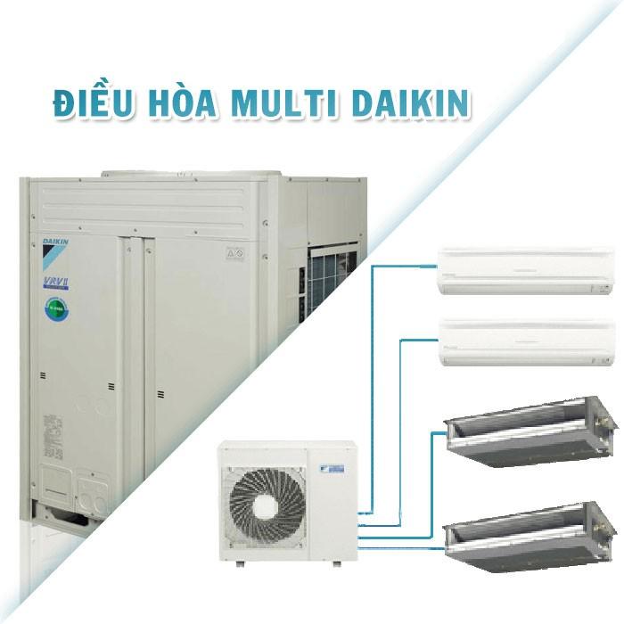 So sánh điều hòa Multi Daikin với các thương hiệu khác
